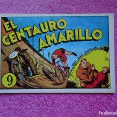 Tebeos: JUAN CENTELLA 9 EL CENTAURO AMARILLO EDICIONES IBERCOMIC-MAM 1989 EL BOSQUE EN LLAMAS. Lote 287751873