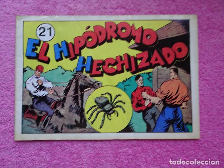 JUAN CENTELLA 21 EL HIPÓDROMO HECHIZADO EDICIONES IBERCOMIC-MAM 1989 LA FÁBRICA SUBTERRÁNEA (Tebeos y Comics - Hispano Americana - Juan Centella)