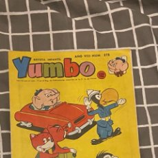 Tebeos: YUMBO Nº 378 EDI. CLIPER-HISPANO AMERICANA 1958,. Lote 287957578