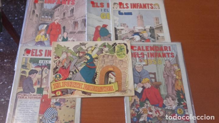 LOTE CÓMICS TEBEOS ANTIGUOS EN CATALÁN (Tebeos y Comics - Hispano Americana - Otros)