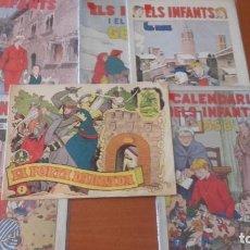 Tebeos: LOTE CÓMICS TEBEOS ANTIGUOS EN CATALÁN. Lote 287988573