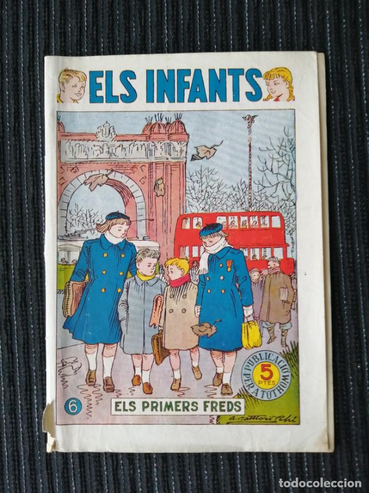 "CÓMIC ""ELS INFANTS"" ELS PRIMERS FREDS. NÚM. 6. CATALÁN. HISPANO AMERICANA. AÑOS 50 (Tebeos y Comics - Hispano Americana - Otros)"