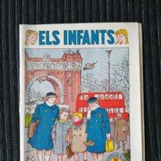 "Tebeos: CÓMIC ""ELS INFANTS"" ELS PRIMERS FREDS. NÚM. 6. CATALÁN. HISPANO AMERICANA. AÑOS 50. Lote 288023388"