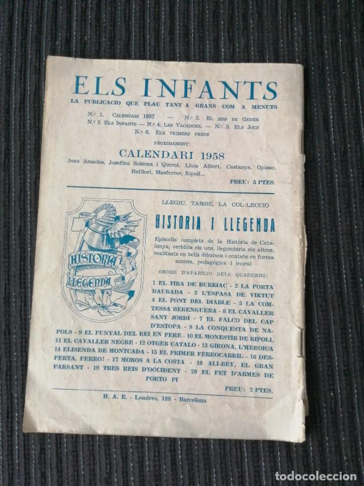 """Tebeos: CÓMIC """"ELS INFANTS"""" ELS PRIMERS FREDS. NÚM. 6. CATALÁN. HISPANO AMERICANA. AÑOS 50 - Foto 2 - 288023388"""