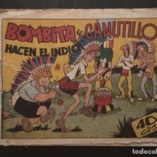Tebeos: COMIC EDITORIAL HISPANO AMERICANA BOMBITA Y CANUTILLO HACEN EL INDIO. Lote 288161808