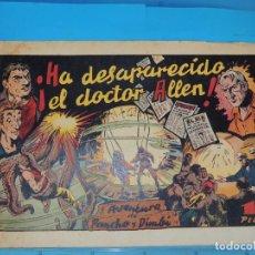 Livros de Banda Desenhada: AVENTURA DE PANCHO Y DIMBI. HA DESAPARECIDO EL DOCTOR ALLEN . Nº 1. Lote 288369068