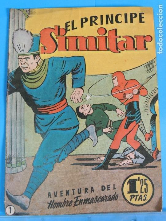 AVENTURA DEL HOMBRE ENMASCARADO .Nº1. EL PRINCIPE SIMITAR (Tebeos y Comics - Hispano Americana - Hombre Enmascarado)