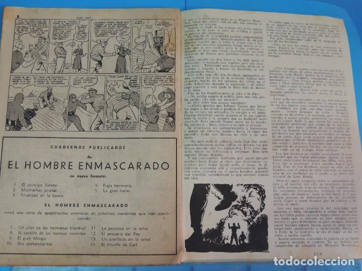 Tebeos: AVENTURA DEL HOMBRE ENMASCARADO .Nº6. DOBLE ARDID - Foto 5 - 288380738