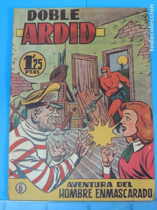 AVENTURA DEL HOMBRE ENMASCARADO .Nº6. DOBLE ARDID (Tebeos y Comics - Hispano Americana - Hombre Enmascarado)