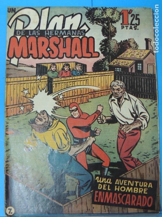 AVENTURA DEL HOMBRE ENMASCARADO .Nº7. PLAN DE LAS HERMANAS MARSHALL (Tebeos y Comics - Hispano Americana - Hombre Enmascarado)