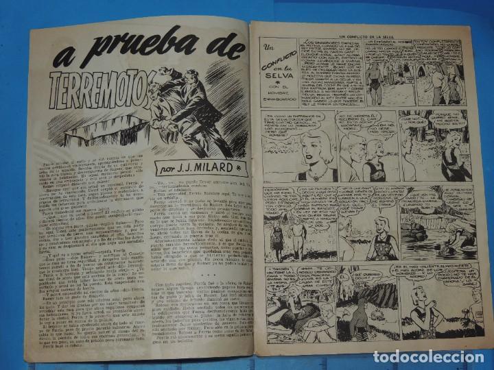 Tebeos: AVENTURA DEL HOMBRE ENMASCARADO .Nº13. CONFLICTO EN LA SELVA - Foto 3 - 288388498