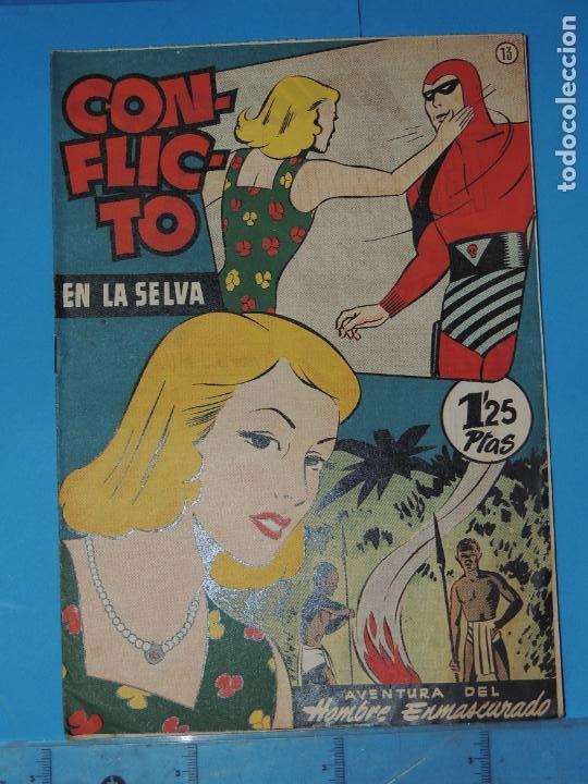 AVENTURA DEL HOMBRE ENMASCARADO .Nº13. CONFLICTO EN LA SELVA (Tebeos y Comics - Hispano Americana - Hombre Enmascarado)