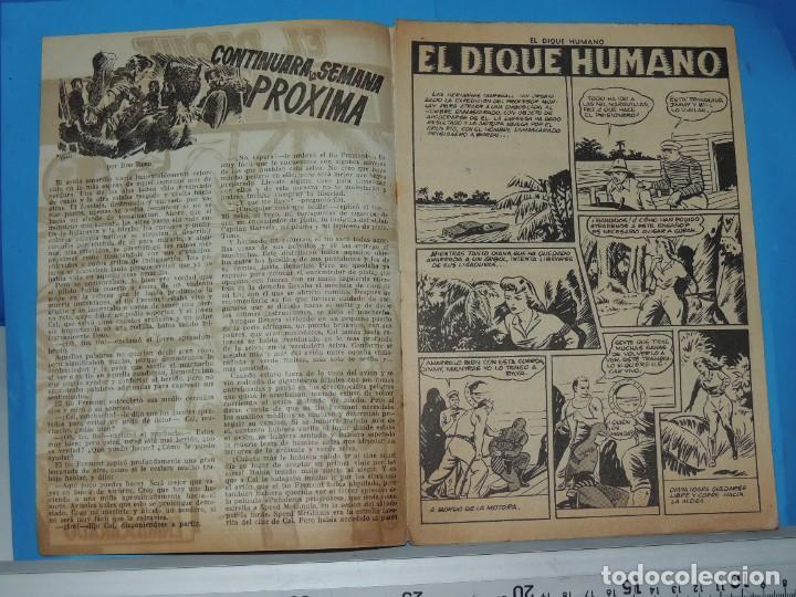 Tebeos: AVENTURA DEL HOMBRE ENMASCARADO .Nº21. EL DIQUE HUMANO - Foto 3 - 288392198