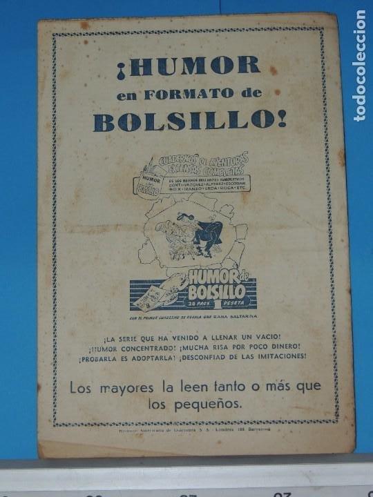 Tebeos: AVENTURA DEL HOMBRE ENMASCARADO .Nº21. EL DIQUE HUMANO - Foto 6 - 288392198