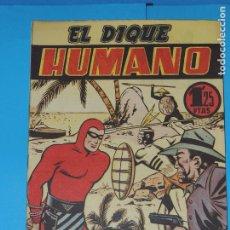 Tebeos: AVENTURA DEL HOMBRE ENMASCARADO .Nº21. EL DIQUE HUMANO. Lote 288392198