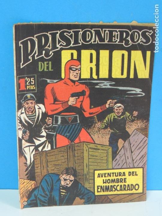 AVENTURA DEL HOMBRE ENMASCARADO .Nº22. PRISIONEROS DEL ORION (Tebeos y Comics - Hispano Americana - Hombre Enmascarado)