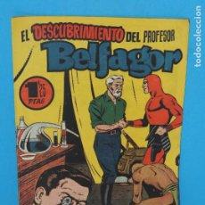 Tebeos: AVENTURA DEL HOMBRE ENMASCARADO .Nº23. EL DESCUBRIMIENTO DEL PROFESOR BELFAGOR. Lote 288555098