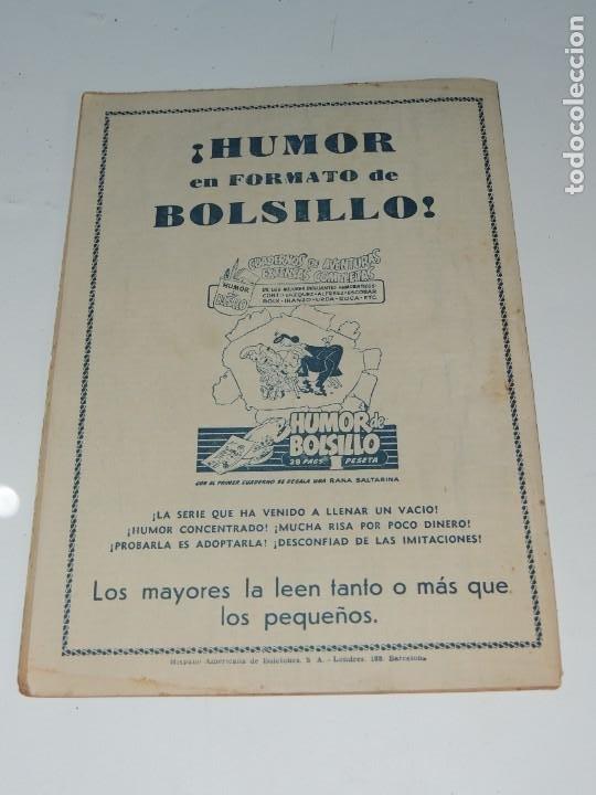 Tebeos: AVENTURA DEL HOMBRE ENMASCARADO .Nº23. EL DESCUBRIMIENTO DEL PROFESOR BELFAGOR - Foto 6 - 288555098
