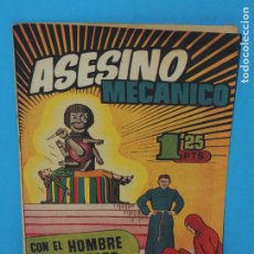 Tebeos: AVENTURA DEL HOMBRE ENMASCARADO .Nº 34. ASESINO MECANICO. Lote 288559058