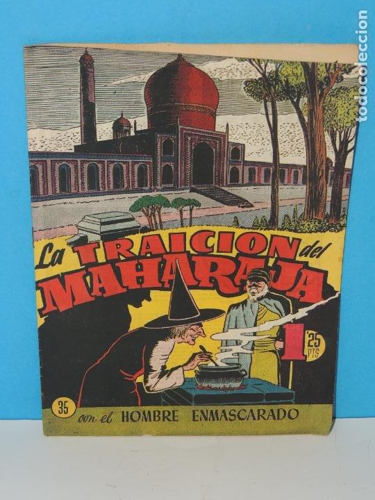 AVENTURA DEL HOMBRE ENMASCARADO .Nº 35. LA TRAICION DEL MAHARAJA (Tebeos y Comics - Hispano Americana - Hombre Enmascarado)
