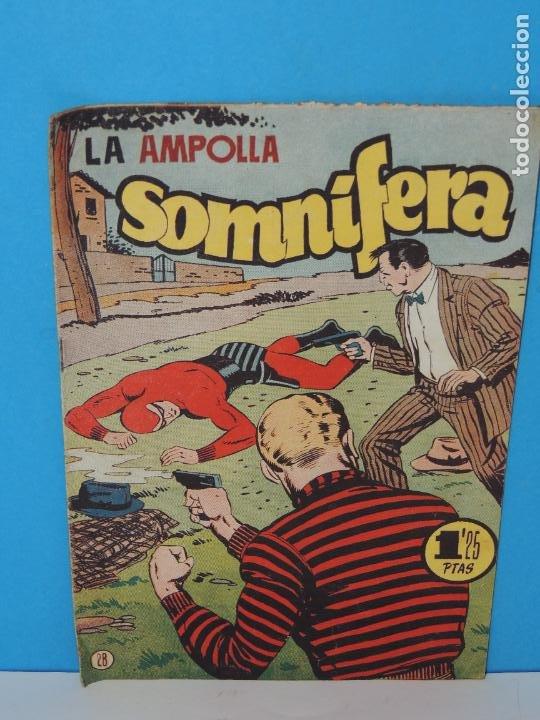 AVENTURA DEL HOMBRE ENMASCARADO .Nº 28. LA AMPOLLA SOMNIFERA (Tebeos y Comics - Hispano Americana - Hombre Enmascarado)