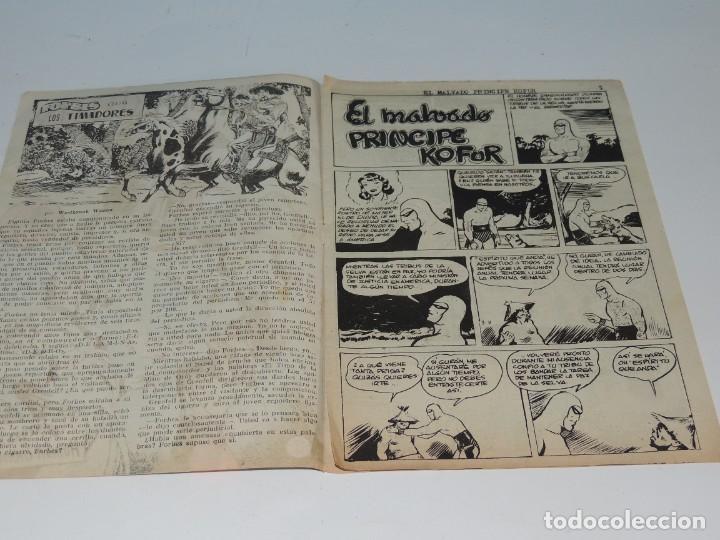 Tebeos: AVENTURA DEL HOMBRE ENMASCARADO .Nº 27. EL MALVADO PRINCIPE KOFUR - Foto 3 - 288562048