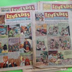 Tebeos: LOTE DE 12 LEYENDAS -VER NUMERACION. Lote 289782423