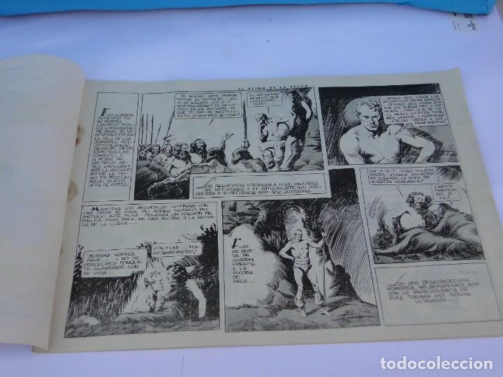 Tebeos: FLASH GORDON (1942, HISPANO AMERICANA) Nº 8 : EL REINO DE LA SELVA - Foto 4 - 289817618