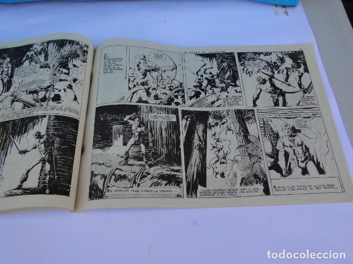 Tebeos: FLASH GORDON (1942, HISPANO AMERICANA) Nº 8 : EL REINO DE LA SELVA - Foto 6 - 289817618