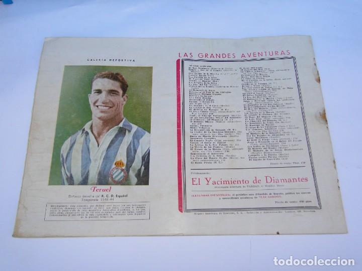 Tebeos: FLASH GORDON (1942, HISPANO AMERICANA) Nº 8 : EL REINO DE LA SELVA - Foto 8 - 289817618