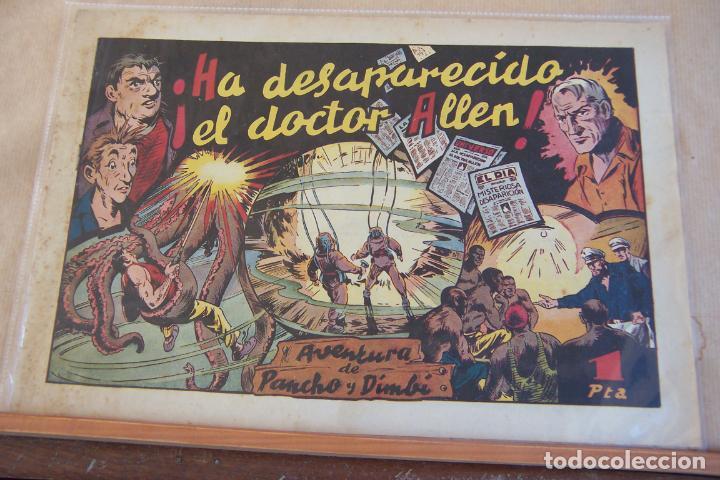 HISPANO AMERICANA,- PANCHO Y DIMBÍ Nº 1 HA DESAPARECIDO EL DOCTOR ALLEN (Tebeos y Comics - Hispano Americana - Otros)