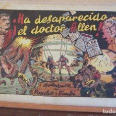 Tebeos: HISPANO AMERICANA,- PANCHO Y DIMBÍ Nº 1 HA DESAPARECIDO EL DOCTOR ALLEN. Lote 289854083