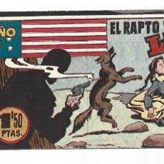 Tebeos: EL PEQUEÑO SHERIFF 194, 1952, HISPANO AMERICANA, ORIGINAL, MUY BUEN ESTADO. Lote 289919098