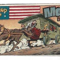 Tebeos: EL PEQUEÑO SHERIFF 195, 1952, HISPANO AMERICANA, ORIGINAL, MUY BUEN ESTADO. Lote 289919413