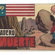 Tebeos: EL PEQUEÑO SHERIFF 196, 1952, HISPANO AMERICANA, ORIGINAL, MUY BUEN ESTADO. Lote 289919753