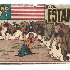 Tebeos: EL PEQUEÑO SHERIFF 200, 1952, HISPANO AMERICANA, ORIGINAL, MUY BUEN ESTADO. Lote 289921023