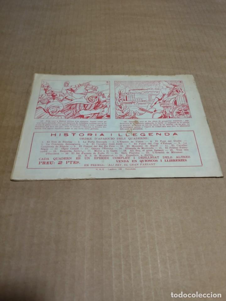 Tebeos: HISTORIA I LEGENDA Nº 17 - MOROS A LA COSTA - ORIGINAL - HISPANO AMERICANA EDICIONES - Foto 2 - 290025248