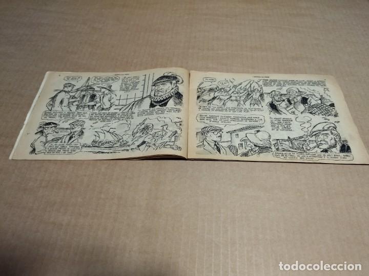Tebeos: HISTORIA I LEGENDA Nº 17 - MOROS A LA COSTA - ORIGINAL - HISPANO AMERICANA EDICIONES - Foto 3 - 290025248