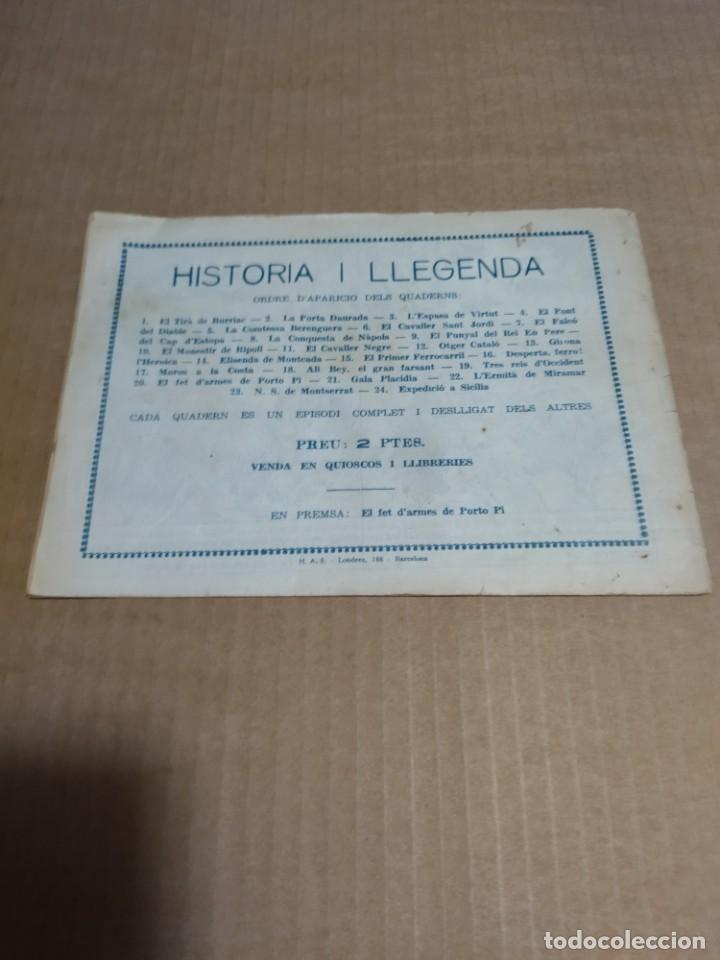 Tebeos: HISTORIA Y LEGENDA Nº 19 - ORIGINAL HISPANO AMERICANA EDICIONES - Foto 2 - 290028773