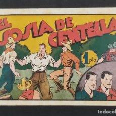 Giornalini: JUAN CENTELLA. EL SOSIA DE CENTELLA. HISPANO AMERICANA 1940 (21,5X32). Lote 292124943
