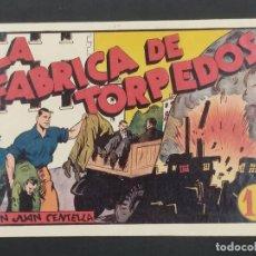 Giornalini: FABRICA DE TORPEDOS JUAN CENTELLA (21,5X32) ORIGINAL 1940,S. Lote 292125383