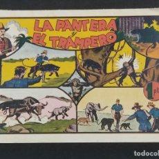 Giornalini: LA PANTERA Y EL TRAMPERO . JUAN CENTELLA (21,5X32). ORIGINAL 1940,S. Lote 292126203