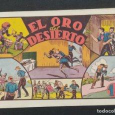 Giornalini: EL ORO DEL DESIERTO . JUAN CENTELLA (21,5X32). ORIGINAL 1940,S. Lote 292126603