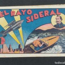 Giornalini: EL RAYO SIDERAL . JUAN CENTELLA (21,5X32).HISPANO AMERICANA . ORIGINAL 1940,S. Lote 292126873