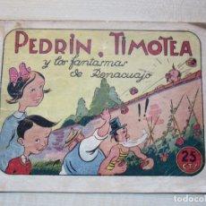 Tebeos: PEDRÍN TIMOTEA EDIT HISPANO AMERICANA POSIBLE AÑOS 40. Lote 292589543