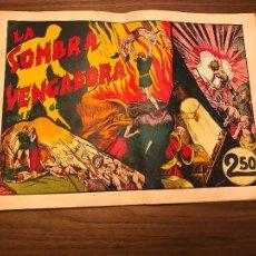 Tebeos: FLAS GORDON, LA SOMBRA VENGADORA , EDITORIAL HISPANO AMERICANA.. Lote 292600573