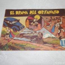 Tebeos: CICLON , EL DRAMA DEL ORFANATO, ORIGINAL, HISPANO AMERICANA, 60 CTS. Lote 293151678