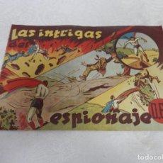 Tebeos: CICLON , LAS INTRIGAS DEL ESPIONAJE , ORIGINAL, HISPANO AMERICANA, 60 CTS. Lote 293151753