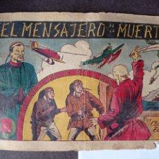 """Tebeos: AVENTURAS DE RIC Y ROB, Nº 1 """"EL MENSAJERO DE LA MUERTE"""" - HISPANO AMERICANA 1945. Lote 293777968"""