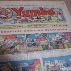 Tebeos: YUMBO Nº 97 H. AMERICANA DE LOS GRANDES-ORIGINAL-LEER DESCRIPCION Y ENVIOS. Lote 293820488